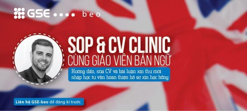 Hướng dẫn sửa SOP & CV Clinic cùng giáo viên bản ngữ
