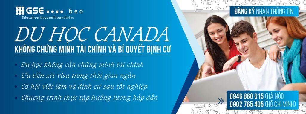 DU HỌC CANADA – KHÔNG CHỨNG MINH TÀI CHÍNH & BÍ QUYẾT ĐỊNH CƯ