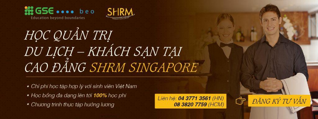Du học thực tập hưởng lương tại trường SHMR, Singapore