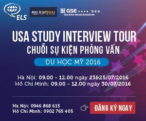US STUDY INTERVIEW TOUR 2016 – HỌC BỔNG CAO ĐẲNG CỘNG ĐỒNG LÊN ĐẾN 80 TRIỆU