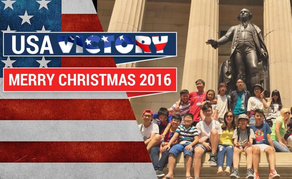 Du học Trải nghiệm Giáng sinh trên nước Mỹ 2016 WASHINGTON DC – PHILADELPHIA – NEW YORK