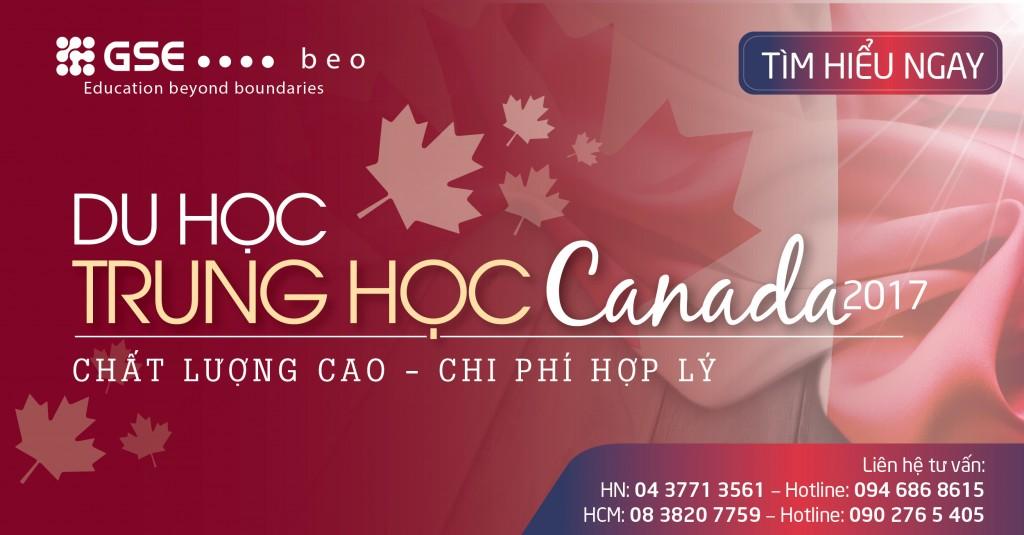 DU HỌC TRUNG HỌC CANADA – CHẤT LƯỢNG CAO, CHI PHÍ HỢP LÝ