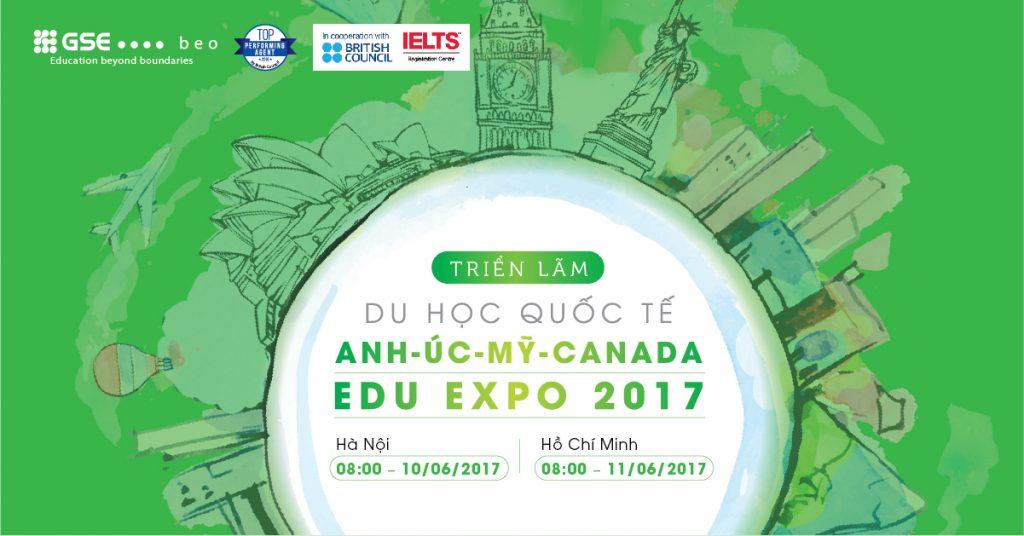 Hàng nghìn suất Học bổng tại Triển lãm Du học Quốc tế Edu Expo 2017