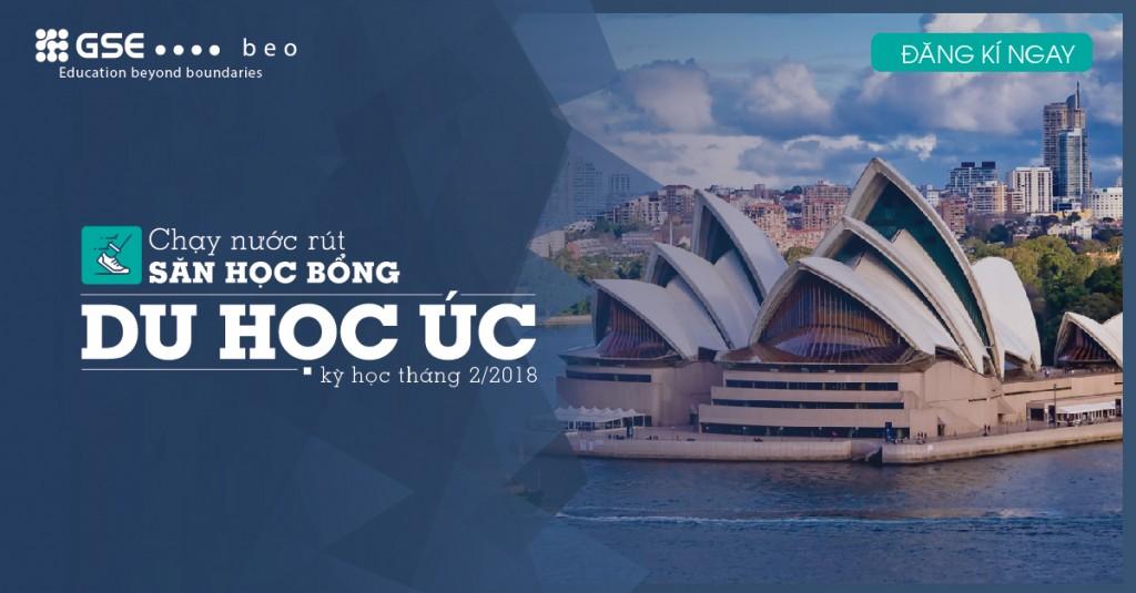 Chạy nước rút săn học bổng chương trình du học Úc tháng 02/2018