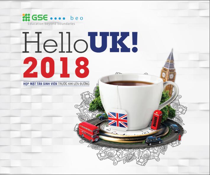 """Họp mặt sinh viên trước khi lên đường – """"HELLO UK! 2018"""""""