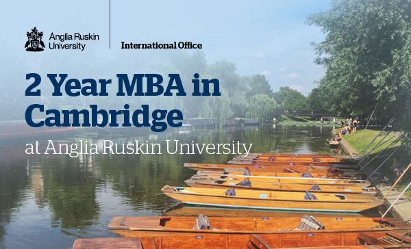MBA 2 năm cùng cơ hội thực tập và học bổng 60 triệu tại TP Cambridge