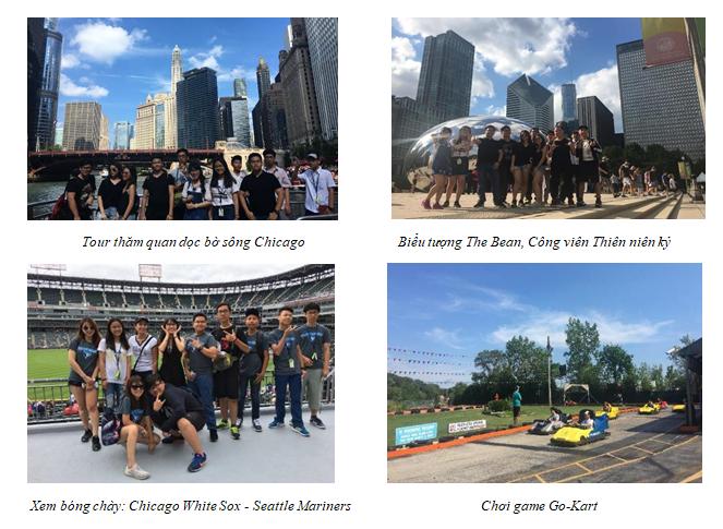 Khám phá Chicago trong chương trình du học hè tại Elmhurst College