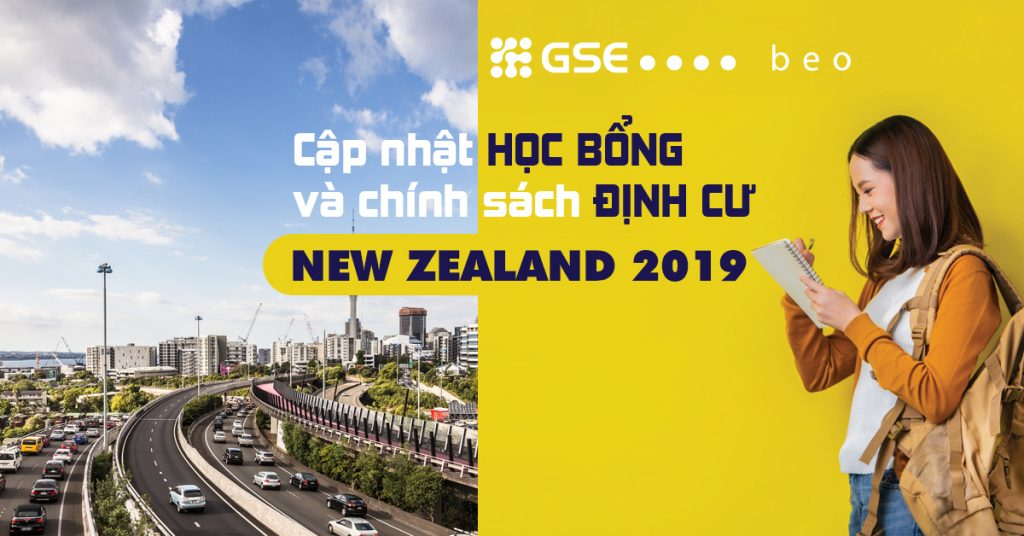 Chính sách học bổng và định cư New Zealand năm 2019