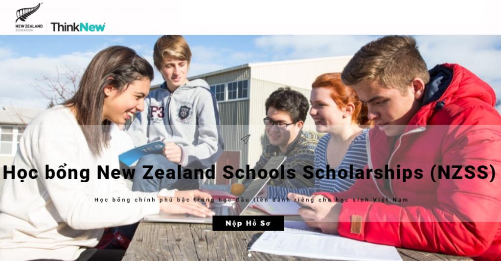 Học bổng Chính phủ New Zealand dành riêng cho học sinh trung học Việt Nam