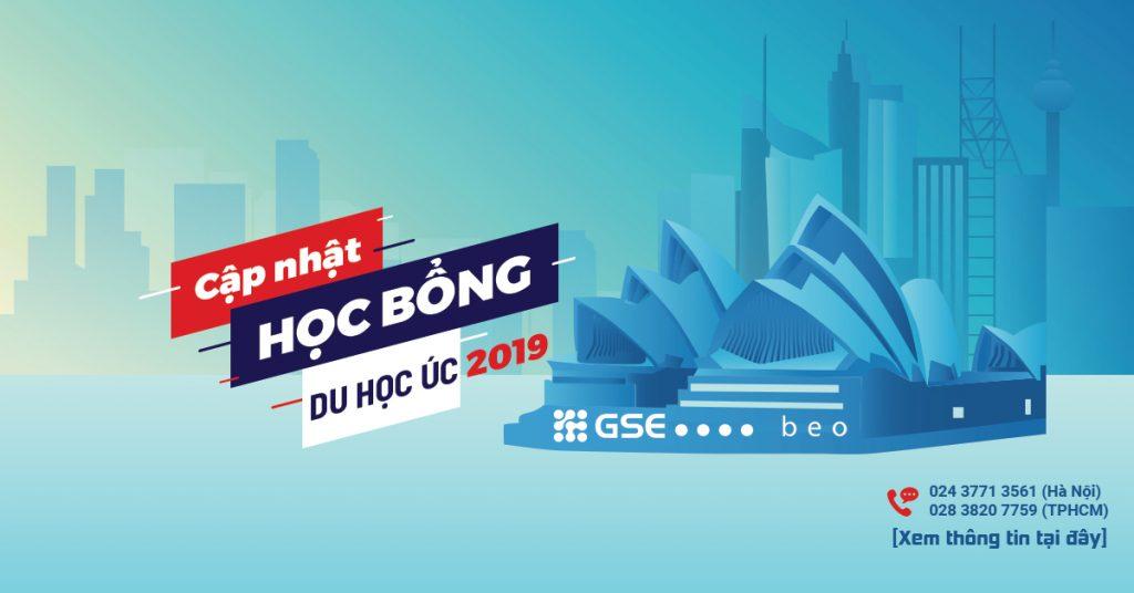 Cập nhật danh sách Học bổng du học Úc mới nhất cho kỳ Tháng 7/2019