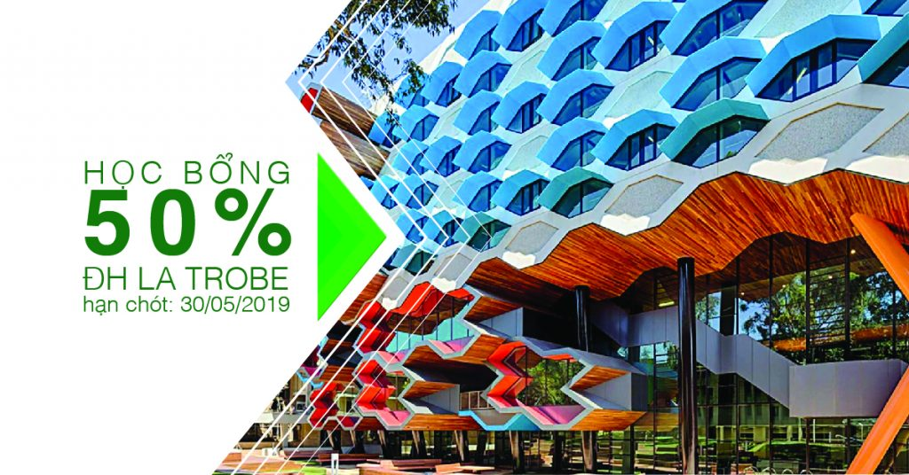 [HOT] 10 suất học bổng 50% học phí từ Đại học La Trobe (Úc) top 1,2% thế giới