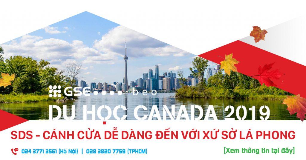 DU HỌC CANADA DIỆN SDS: CÁNH CỬA DỄ DÀNG ĐẾN VỚI XỨ SỞ LÁ PHONG