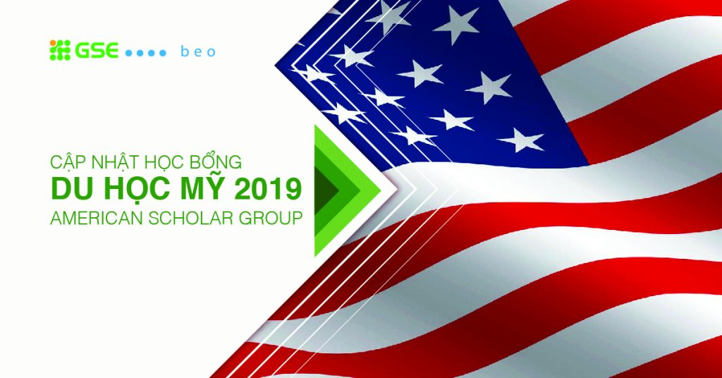 Cập nhật học bổng du học Mỹ của Tập đoàn giáo dục American Scholar Group