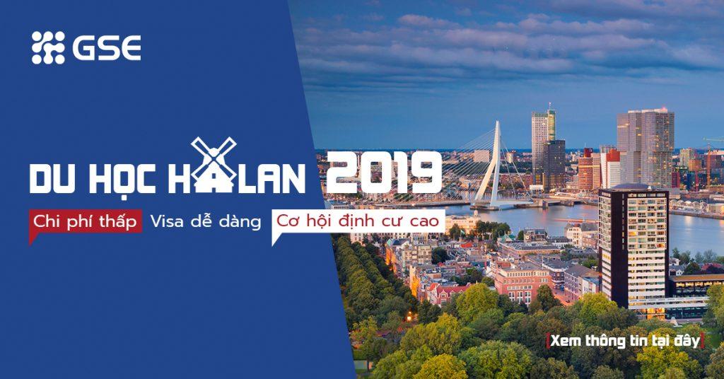 Du học Hà Lan 2019: Chi phí thấp. Visa dễ dàng. Cơ hội định cư cao