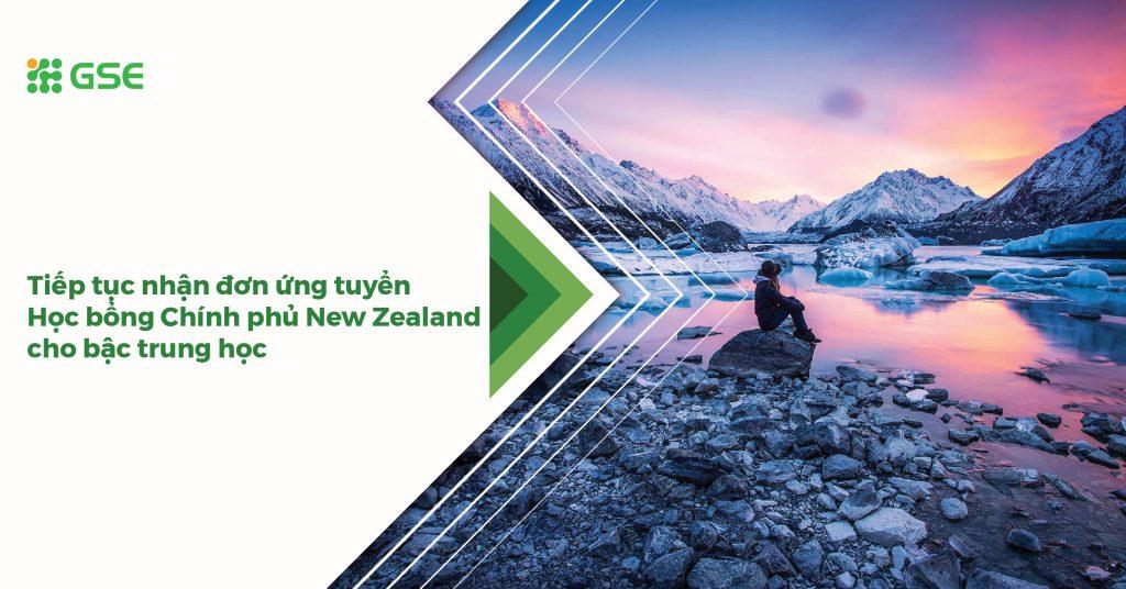 Tiếp tục nhận đơn ứng tuyển Học bổng Chính phủ New Zealand cho bậc trung học