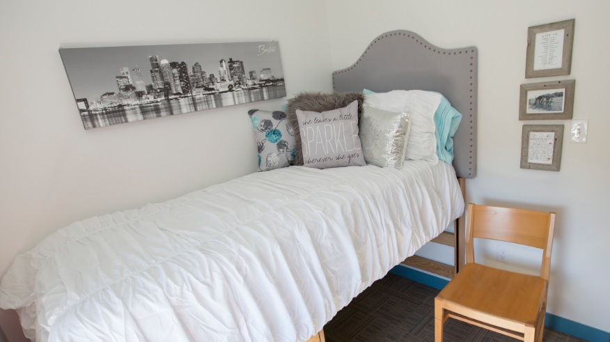 Single Ensuite Bedroom CATS Boston - HỌC BỔNG TRUNG HỌC 20-50% TRƯỜNG CATS ACADEMY BOSTON