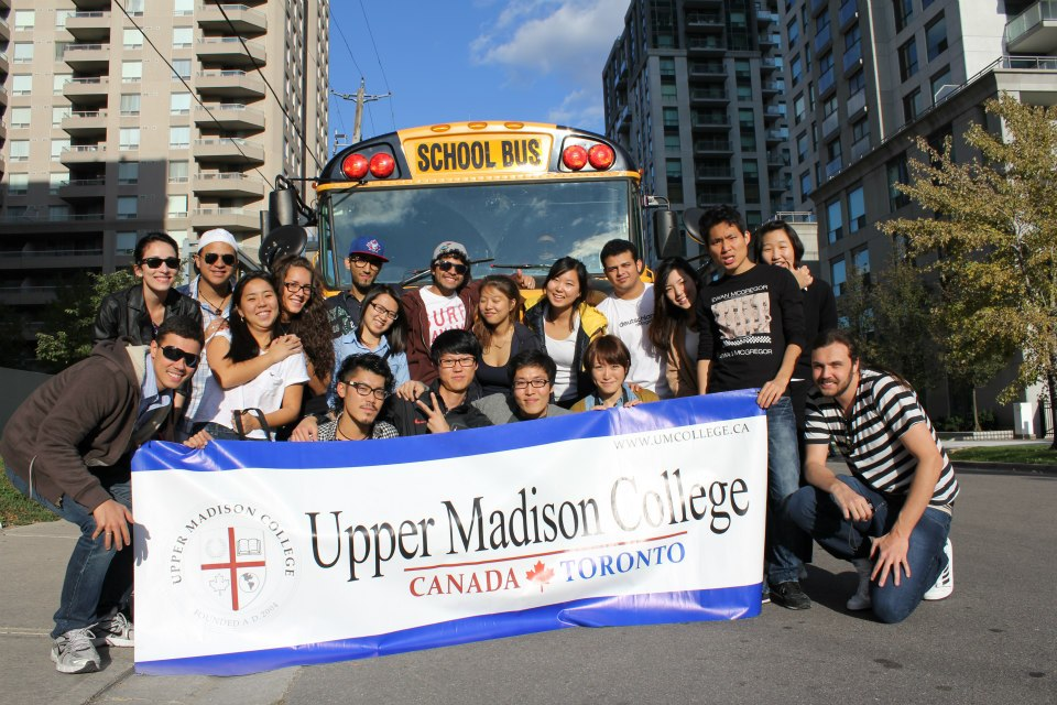 du học Canada tại Upper Madison College
