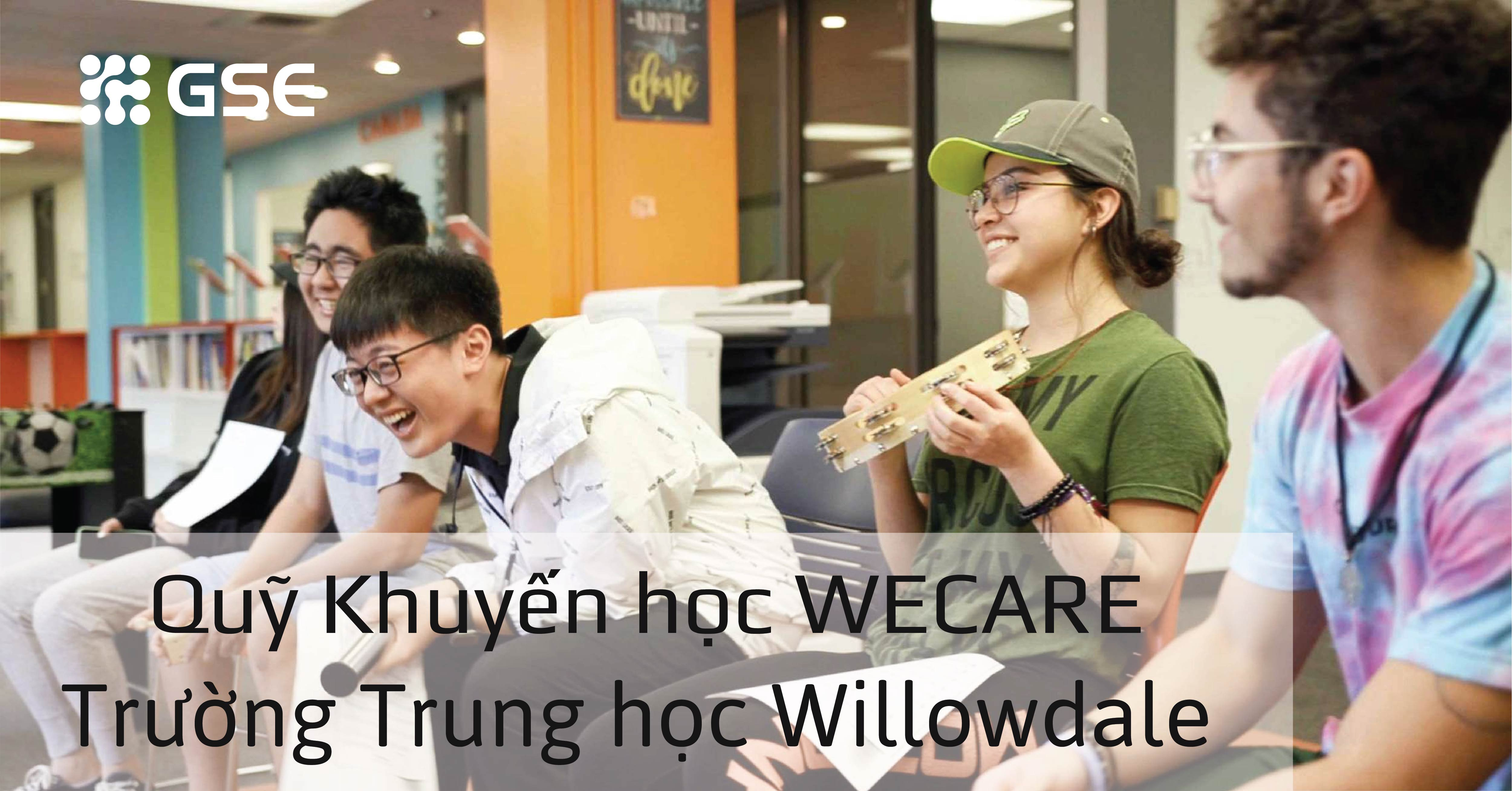 truong trung hoc willowdale 05 - Quỹ Khuyến học WeCare 3,000 CAD cùng trường Trung học Willowdale